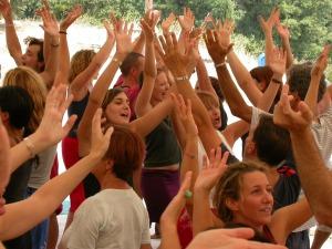 Peace Meditation al Festival di Osho Miasto nel 2003